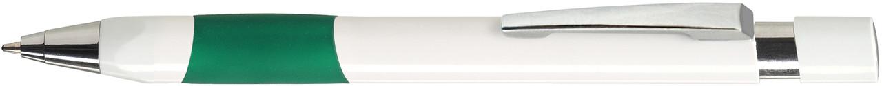 Ручка пластиковая VIVA PENS Eve White бело-зеленая