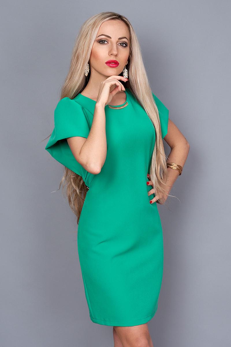 Платье мод. 239-9,размер 44,46,48 бирюза
