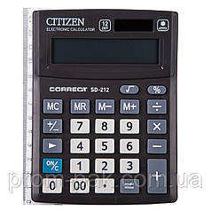 Калькулятор Citizen Correct SD 212