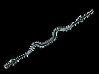 Гриф кривой EZ - образ, d - 25 мм., замок - фигурная гайка