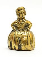 Колокольчик старый, миниатюра,  бронза, Англия, фото 1