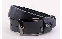 Ремень мужской Dolce and Gabbana кожаный джинсовый ширина 40 мм 930392