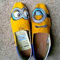 Женские TOMS Funny Minions