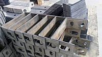 Гибка металла толщиной до 8 мм.
