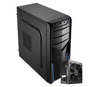 Корпус Aerocool PGS V2 X Blue / EN54715 / 550W / ATX / Micro ATX / Mini ITX / USB 3.0x1, USB 2.0x2,