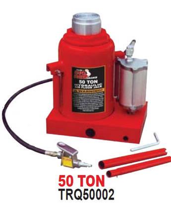 Домкрат бутылочный пневмо-гидравлический 50т TRQ50002 TORIN, фото 2