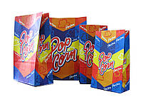 Пакет бумажный двухслойный  для попкорна