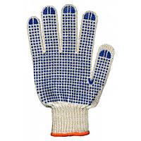 Перчатки рабочие трикотажные с ПВХ покрытием 3 нити