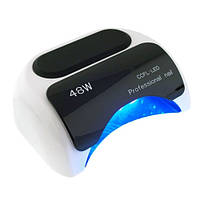 УФ LED+CCFL лампа (таймер 10, 20, 30сек) 48 Вт(белая)