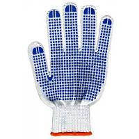 Перчатки рабочие трикотажные с ПВХ покрытием 7 нитей
