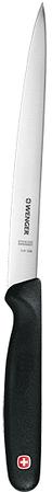 Швейцарский обвалочный нож Wenger Grand Maitre 3 91 206 01 P1 черный
