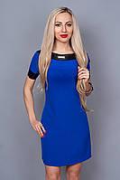 Платье мод. 240-6,размер 40 электрик