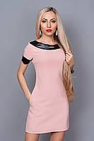 Платье мод. 240-7,размер 40 пудра