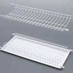Сушилка емаль біла в кухонну шафу L = 600 мм / Сушка эмаль белая для посуды встраиваемая в кухонный шкаф 60 см