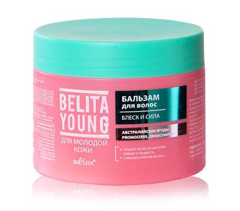 Belita Young Бальзам для волос Блеск и Сила 300 мл.