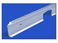 Стык угловой 90* на столешницу, алюминиевый 600х28мм U-образ.