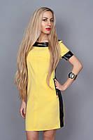 Платье мод. 382-4,размер 40,44,46,48 желтое