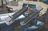 Установочный винт М16 ГОСТ 1486-84, DIN 480 с квадратной головой и ступенчатым концом со сферой