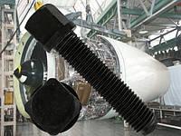 Установочный винт М20 ГОСТ 1486-84, DIN 480 с квадратной головой и ступенчатым концом со сферой