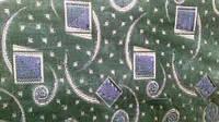 Тканина меблева Шпігель-велюр, абстракція зелений / Ткань мебельная Шпигель-велюр, абстракция зеленый, 140 см