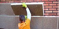 Монтаж фасадных панелей с утеплителем