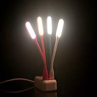 USB LED ледовская лампа лампочка светильник гибкий