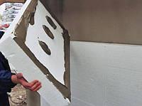 Монтаж утеплителя на стены