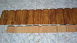 Профнастил ПС-10, золотой дуб для забора, для обшивки стен, как подшива карнизного свеса, фото 4
