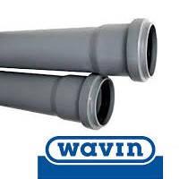 Труба для канализации Wavin д.75х2 м.