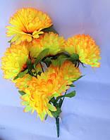 """Букет """"Хризантемы"""", 5 голов (92283-5),  h=60см, цвета в ассортименте"""