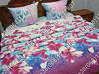 Постельное белье бязь люкс - полуторный комплект (0609)