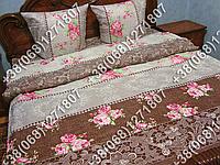 Постельное белье бязь люкс - полуторный комплект (0610)