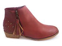 Женские ботинки DOTTY Red, фото 1
