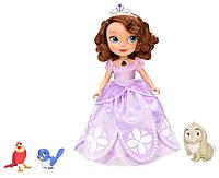 Говорящая принцесса София с питомцами Disney Sofia The First Talking Sofia and Animal Friends, фото 1