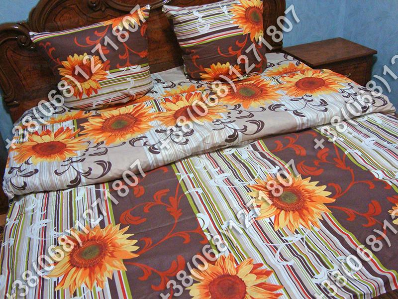 Постельное белье бязь люкс - полуторный комплект (0615)