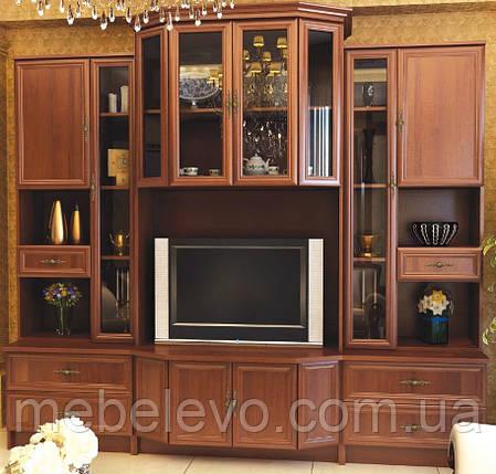 Гостиная Эко комплект №2 2065х2300х552мм орех   Мебель-Сервис, фото 2