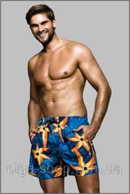 Мужские пляжные шорты Sesto Senso (плавательные шорты, плавки, одежда для пляжа, пляжная, купальные шорты)