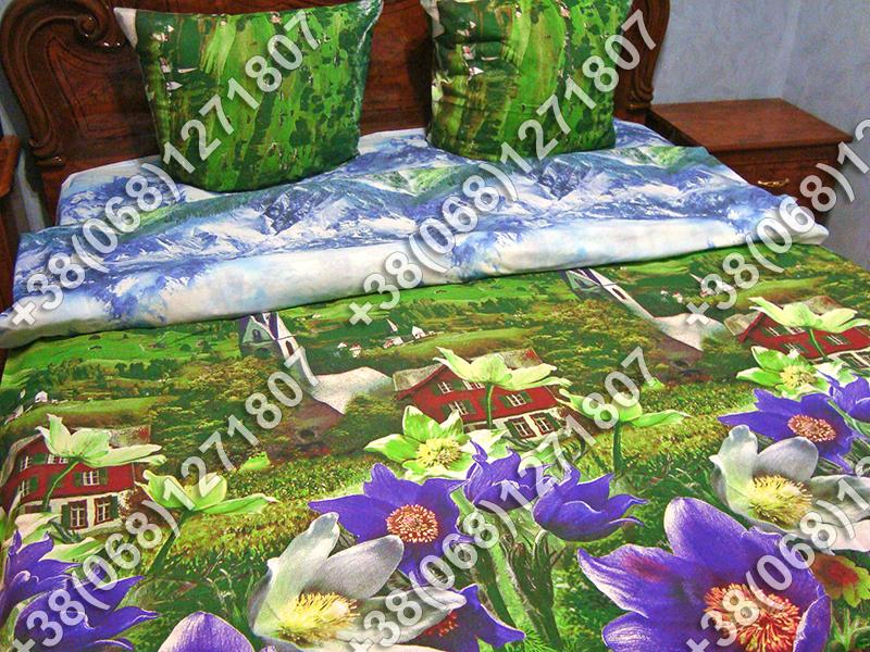 Постельное белье бязь люкс - полуторный комплект (0793)