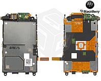 Шлейф для Blackberry 9500/9530, камеры, динамика, боковых клавиш, джойстика, с компонентами (оригинальный)