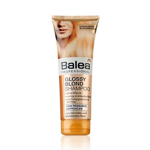 Balea Professional Glossy Blond Shampoo Профессиональный шампунь для блондинок 250 ml