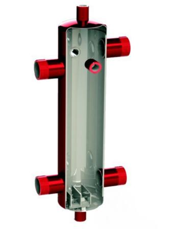 """Гидрострелка KHT HS 1 1/2"""" до 100 кВт с изоляцией"""