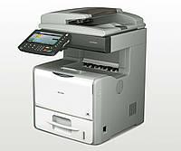 Ricoh Aficio SP 5200S — МФУ формата 3в1, монохромная печать.