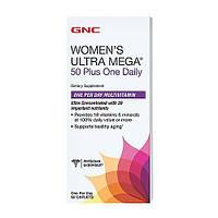 Витамины Women's Ultra Mega 50 Plus one daily (60 caplets)