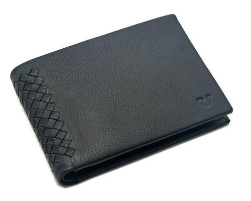 Классическое кожаное мужское портмоне Roncato Monaco 410673/01 черный
