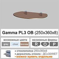 Полка стеклянная Commus PL3 OB