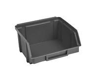 Ящик пластиковый 703 ЧЕРНЫЙ, с размерами ДхШхВ 90х100х50 мм