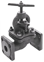 Клапан запорный (вентиль) фланцевый 15кч16нж