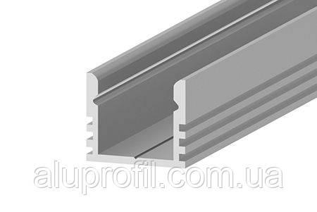 Алюминиевый профиль — светодиодный алюминиевый профиль Z207-P 16х12 AS