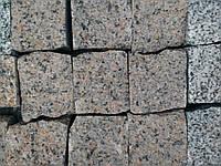 Брусчатка гранитная колотая из гранита жатковского месторождения