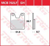 Тормозные колодки для Yamaha YZF-R TRW / Lucas MCB702